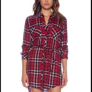 Rails Flannel Plaid Dress size L